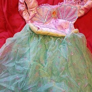Girls little mermaid costume